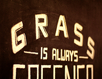 Grass is Greener Chalkwork