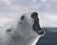 """""""Белый Медведь"""" (polar bear) beer TVC"""