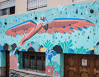 Jungla (Jungle) New wall in Buenos Aires