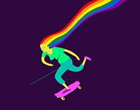 Skategirl (Pride 2018)