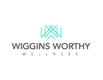Wiggins Worthy Wellness Logo Design
