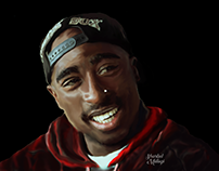 Digital Painting: Tupac Amaru