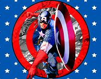 Capitão América - Photoshop