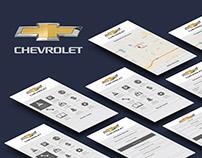 MyChevrolet App Redesign