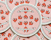 Coasters for TinyLetter