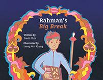 Rahman's Big Break - Children Illustration