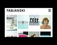 Pawel Fabjanski portfolio website