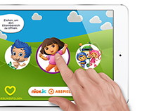 nickjr iPad App