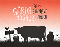 Gårdsyoghurt (Packaging, Naming + Identity)