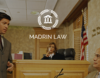 Madrin Law - Onepage Template