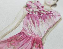 Ilustración de moda / Fashion illustration
