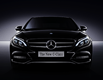 Mercedes-Benz C-Class Launch Campaign