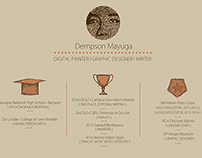 Creative Resume - Coffee Inspired