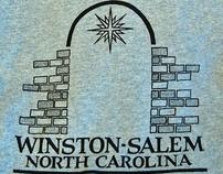 Winston-Salem Tshirt Design