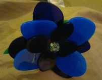 Acrylic Flower Cuff
