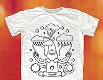 T-shirt design (El Khabith)