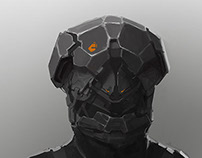 THE GUARD Helmet Sketch 2
