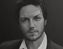 Digital Portrait – James McAvoy