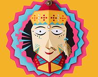 Hindu Deities Masks