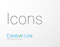 Icons for Corporate brochure