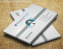 Creative One sided Free Business Card PSD