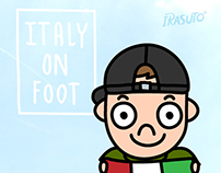 Italy on foot