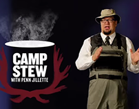 Camp Stew (with Penn Jillette) Promo Scripts