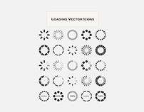 Loading Vector Icons (Freebie)