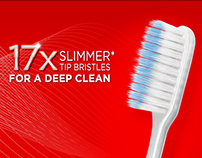 Colgate Slim Soft Toothbrush - Web Design