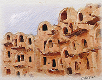 Nafousa Architecture (postcards)