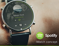 Spotify - iWatch App Concept