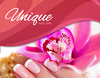 Unique Nail's Flyer