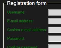 ASP.NET Registration Form