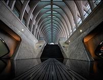 Liége Guillemins by Calatrava