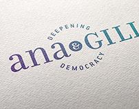 Ana&Gill Identity