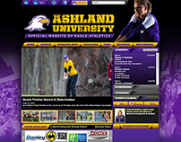 Ashland University Eagles website homepage
