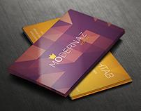 Premium Quality Business Card Design PSD for Free