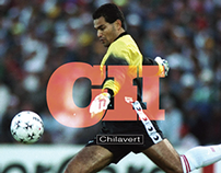 Typography & Fútbol #CH // Chilavert