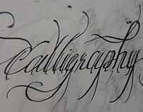 Sheaffer broad-nib rough Calligraphy