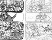 Rajik's Demons: Inks v Pencils