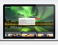 UI/UX Design - Landing Page - Pashadelic