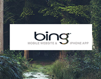 Bing Mobile App and Website