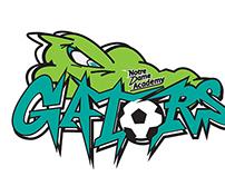 Logo Design for Notre Dame Soccer Academy