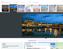 Web App Design - Photo Upload Page - Pashadelic