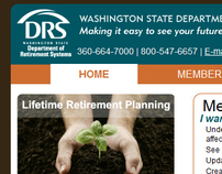 Department of Retirement Systems website redesign