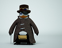 The bastard penguin - C4D Character design