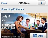 CBS Entertainment iOS App