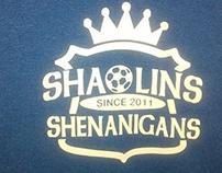 Shaolin Shenanigans Soccer Team Logo and Shirt Design