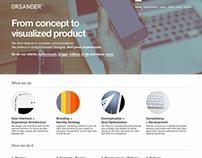 ORSANDER™ 2014 Website