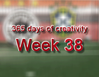 365 days of creativity/art - Week 38